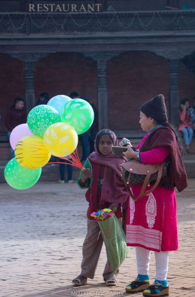 The Balloon-seller!
